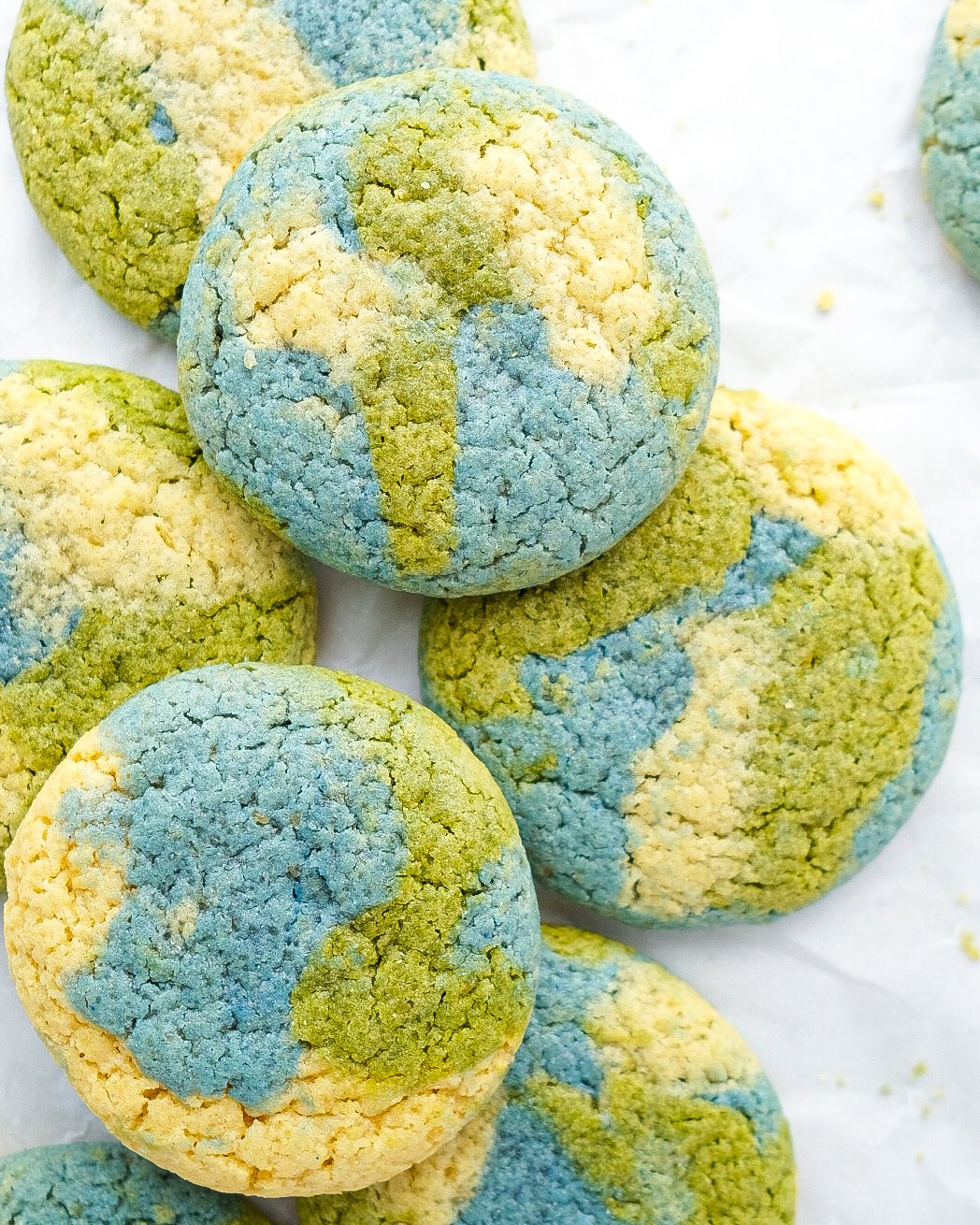 Earth Day Cookies! (grain free & dairy free)